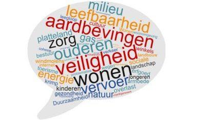 Aardbevingen, werkgelegenheid en (gezondheids)zorg belangrijkste uitdagingen voor de provincie Groningen