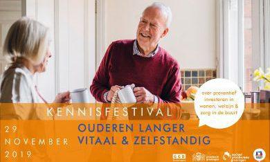Presentaties Kennisfestival Ouderen langer vitaal & zelfstandig, 29 november 2019